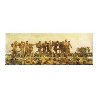 Gassed by John Singer Sargent World War I Canvas Prints