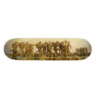Gassed by John Singer Sargent World War I Custom Skateboard