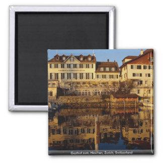 Gasthof zum, Hirschen, Zurich, Switzerland Magnet