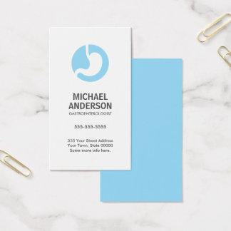 Gastroenterologist modern and minimal business card