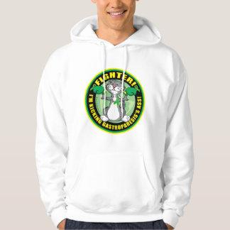 Gastroparesis Boxing Cat Hooded Sweatshirts