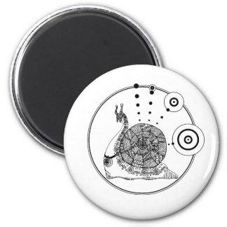 Gastropod 2 Inch Round Magnet