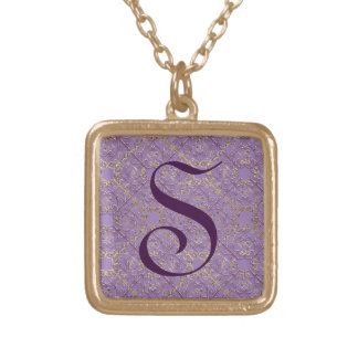 Gate 1 Initial Square Pendant Necklace