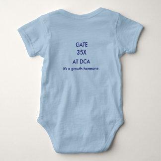 Gate 35X-Reagan National Airport. Baby Bodysuit