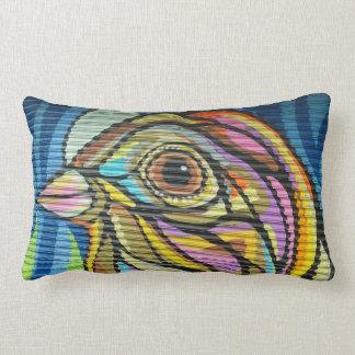 Gate Bird Streetart Pillow