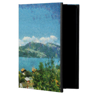 Gate, greenery and mist powis iPad air 2 case