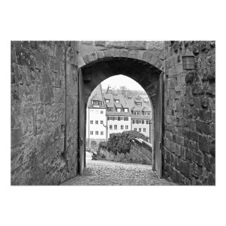 Gate of the Nuremberg Fortress Photo Print