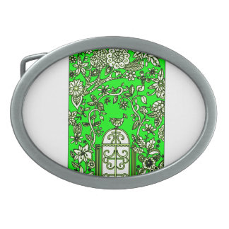 Gate to Nature Oval Belt Buckle