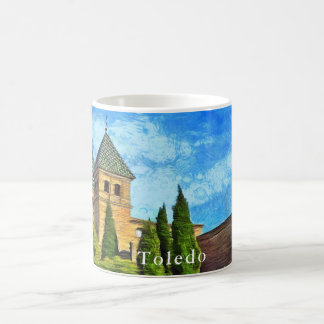 Gate Towers Puerta de Bisagra Nueva in Toledo. Coffee Mug