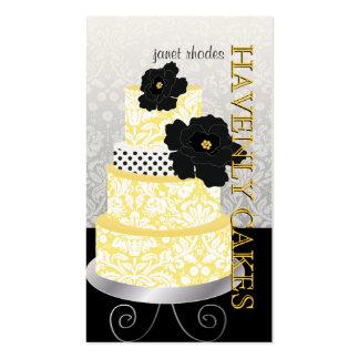 Gâteau/boulangerie/pâtisserie de PixDezines Carte De Visite Standard