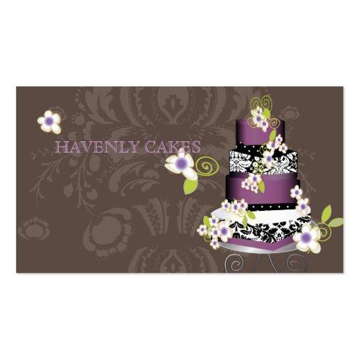 Gâteau/boulangerie/pâtisserie de PixDezines Cartes De Visite Personnelles