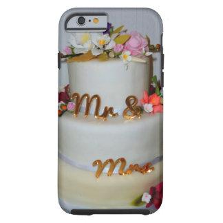 Gâteau de mariage coque iPhone 6 tough