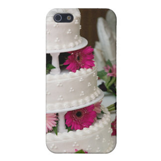 Gâteau de mariage de marguerite de Gerbera Étuis iPhone 5