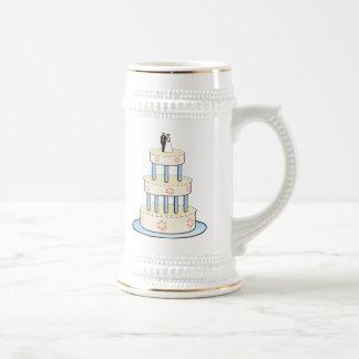Gâteau de mariage tasses