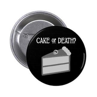 Gâteau ou mort ? badges