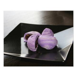 Gâteaux de myrtille photo d'art