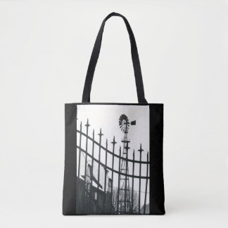 Gated Windmill Tote Bag
