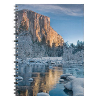 Gates in Yosemite Spiral Notebook