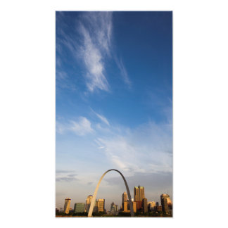 Gateway Arch and downtown St. Louis Photo