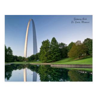 Gateway Arch - St. Louis Missouri Postcard