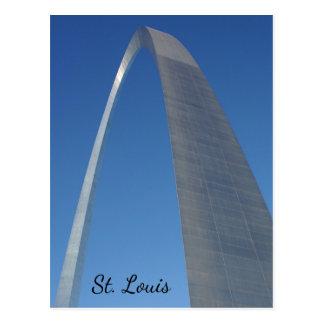 Gateway Arch St. Louis Postcard