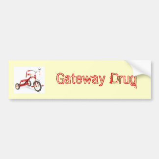 Gateway Drug Bumper Sticker