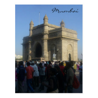 gateway mumbai postcard