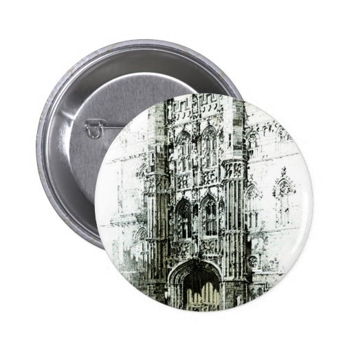 Gateway to Kings College Pinback Button