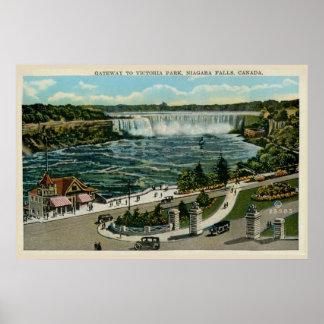 Gateway to Victoria Park, Niagara Falls, Canada Poster