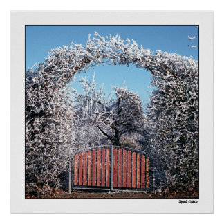 Gateway to Winter Wonderland Poster