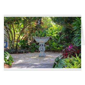 Gather in the Garden Card