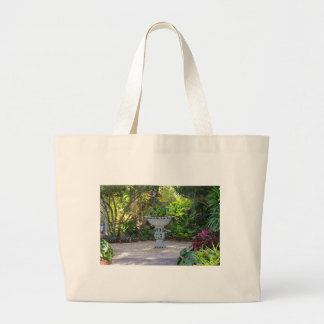 Gather in the Garden Large Tote Bag