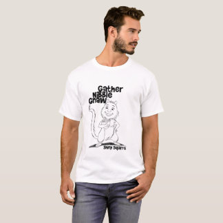 Gather Nibble Gnaw for Men T-Shirt