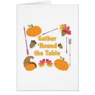 Gather Round Card