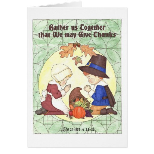 Gather Us Together Thanksgiving Card