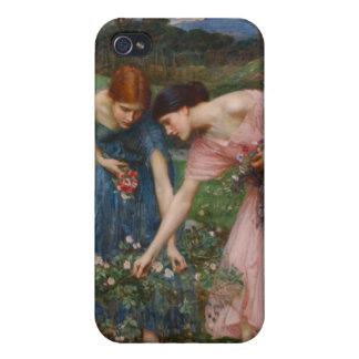Gather Ye Rosebuds While Ye May - Waterhouse iPhone 4/4S Covers