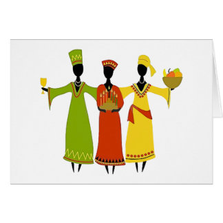 Gathering Kwanzaa Holiday Greeting Cards