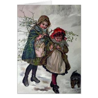 Gathering Mistletoe Card