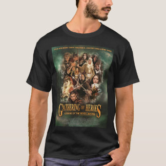 GATHERING OF HEROES poster 02 T-Shirt