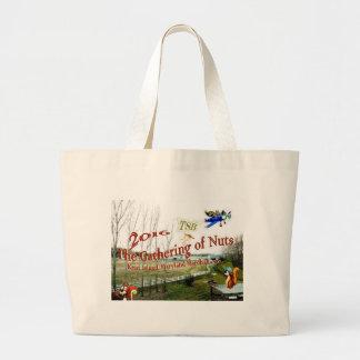 GatheringOnFarm.JPG Large Tote Bag