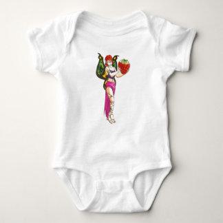 gatlin fairy with strawberry baby bodysuit