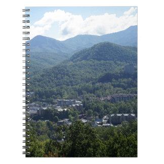 Gatlinburg Spiral Note Books
