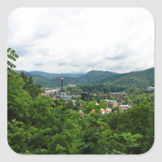 Gatlinburg, Tennessee Square Sticker