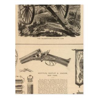 Gatling Gun Company Schuyler, Hartley and Graham Postcard