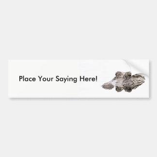 Gator Bumper Sticker
