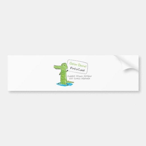 Gator Done! Bumper Sticker