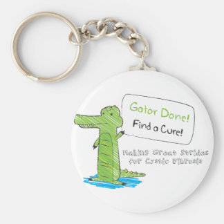 Gator Done! Keychain