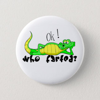 Gator Gas.:-) 2 Inch Round Button