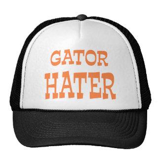 Gator Hater Burnt Orange apparel design Trucker Hat