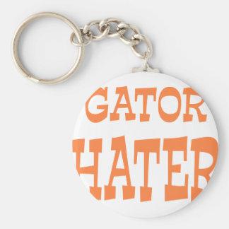 Gator Hater Burnt Orange design Keychain